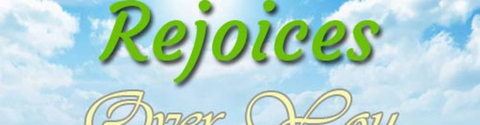 God Rejoices Over You - http://rccgzoelifepaisley.org
